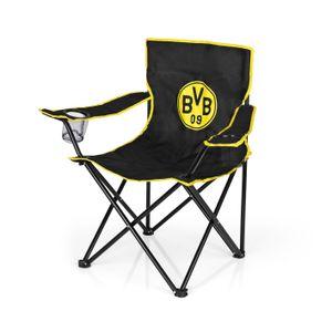 BVB Borussia Dortmund Faltstuhl Faltbar Klappstuhl Campingstuhl Strandstuhl