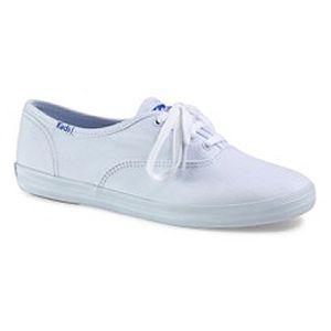 Keds Champion White Canvas Damen Sneaker Weiß WF34000, Größenauswahl:38