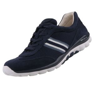 GABOR Rollingsoft Damen Sneaker Blau, Schuhgröße:EUR 38.5