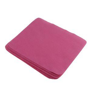 Mikrofaser-Reinigungstücher, Mikrofasertücher, Brillenputztuch, 20 Stück Rose Rot wie beschrieben