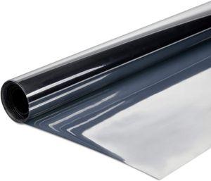 300 x 76cm Original SOLAR-TEC® Universal Sonnenschutz Spiegelfolie hochglanzverspiegelt selbstklebend für Außen- und Innenmontage