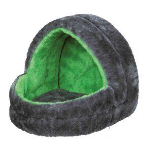 Trixie Kuschelhöhle für Kleintiere 25 × 25 × 29 cm, grün/grau