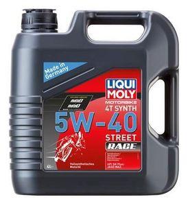 4 Liter LIQUI MOLY 5W-40 Motorbike 4T Synth Street Race