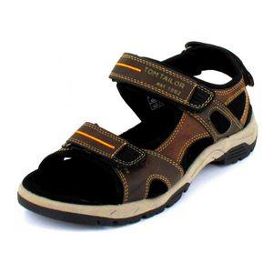 Tom Tailor Sandale  Größe 45, Farbe: mokka