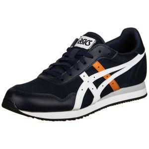 ASICS Tiger Runner Sneaker Herren Erwachsene dunkelblau / weiß 8.5 US - 42 EU