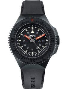 Traser H3 Tactical Watches P69 Black Stealth Militär Einsatzuhr Kautschukband