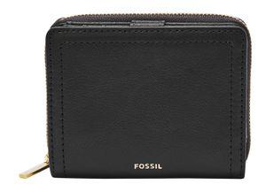 Fossil Damen Geldbörse RFID Logan Multi Leder Schwarz SL7923-001