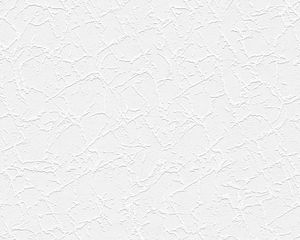 A.S. Création Strukturprofiltapete Simply White 4 Tapete weiß 10,05 m x 0,53 m 251718 2517-18