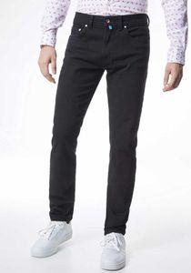 Pierre Cardin Herren Jeans Hose Lyon Trapered Fit Futureflex Black Denim 3451-8880 88 *, Größe:W40/L34, Farbe:88schwarz
