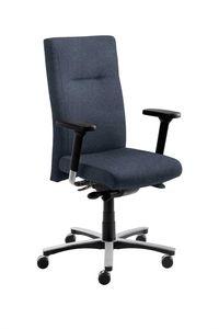 Bürosessel - myNEW VISION XXL Jeansblau