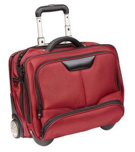 Pilotenkoffer Bowatex Trolley Aktenkoffer Business Koffer Rot 47cm Dermata