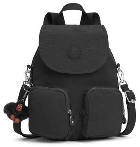 kipling Basic Eyes Wide Open Firefly Up Small Backpack True Black