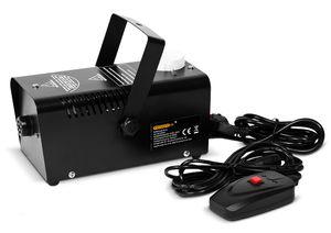 Nebelmaschine mit Fernbedienung Smoke Fog Effekt Heimnebelmaschine - 400W - mit Fernbedienung - 300ml Tank