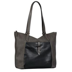 TOM TAILOR LONE Shopper / Handtasche 28068-71 dark grey