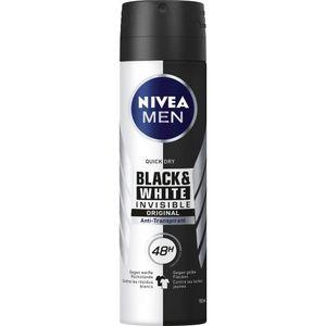 Nivea Deo Black & White Men 150 ml Dose