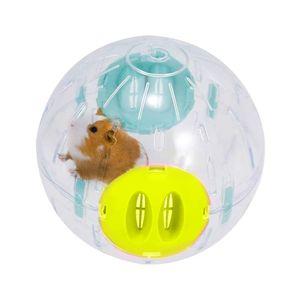 Hamsterball Hamster Laufball 1 Stück Hamster Spielzeug Laufkugel Rolle Kugel Übungsball Joggingball für Hamster Ratten Rennmäuse Kleintiere Spielzeug Kunststoff