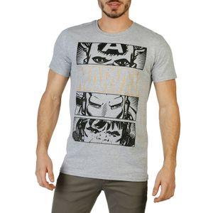 Marvel Herren Marken T-Shirt, Freizeitshirt, RBMTS094, Größe:S, Farbe:Grau, Herstellerfarbe:gray.black