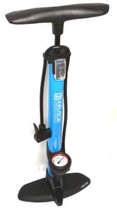 Hochdruck Standpumpe CBK-MS mit Manometer alle Fahrrad Ventile ( beto tek )