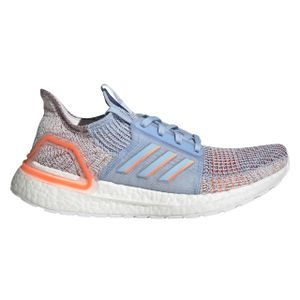 adidas Damen Laufschuhe UltraBoost 19 Blue Glow Blue / Hi-Res Coral / Active Maroon 39 1/3