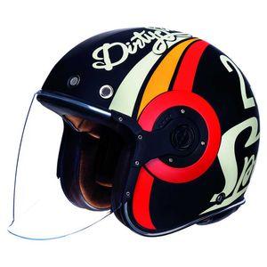Smk Eldorado Speed Tt Matt Black / Red / White / Orange L