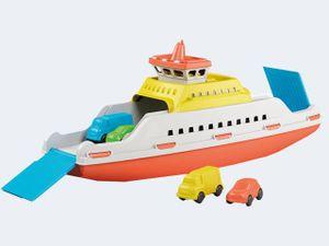 Adriatic Ferry, Blau, Orange, Weiß, Gelb, Boot, Innen/Außen, 39 cm