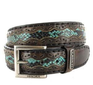 Sendra Boots 8347 Denver Canela Pyton Fantasia PS 72, Länge:105
