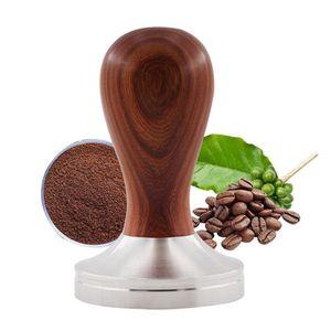 MEIYOU Premium Espresso Tamper Set 51mm - Kaffeestampfer aus Edelstahl