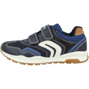 Geox Kinder Sneaker  Synthetikkombination blau 36