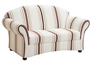 Max Winzer   Sofa 2-Sitzer - Farbe: weiß - Maße: 151 cm x 86 cm x 83 cm; 2887-2100-2041250-F07