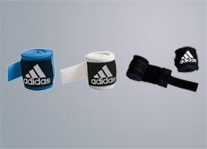 adidas Bandagen, Crepe, halbelastisch, 3.5 m, blau