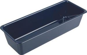 Dr. Oetker Brotbackform 35 cm, Kastenform aus dem Premium-Segment für saftige Brote, Königskuchenform der Serie Back-Liebe Emaille mit Quarz-Emaille-Versiegelung, Menge: 1 Stück