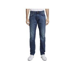 TOM TAILOR JOSH Regular Slim Herren Jeans in 3 verschiedenen Farben, Inch Größen:W32/L32, Tom Tailor Farben:Used Mid Stone Blue 10119