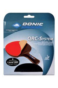 Donic-Schildkröt Tischtennis Ersatzbelag QRC Level 900, für blitzschnellen Belagwechsel, 1,9 mm Schwamm, Champion - ITTF Belag