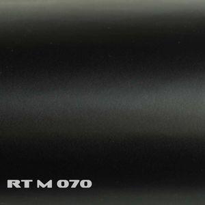 (5,91€/m²) Rapid Teck® Premium Autofolie Matt Schwarz 152 cm Breite Laufmeterware selbstklebende Folie mit Luftkanälen matte Auto Folie