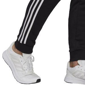 adidas Jogginghose Herren mit 3 Streifen French Terry, Größe:L, Farbe:Schwarz