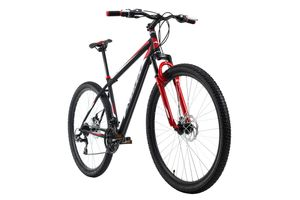 Mountainbike Hardtail 29'' Xtinct schwarz-rot RH 56 cm KS Cycling