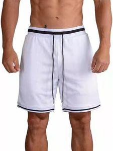 Sportliche Elastische Taillenshorts Für Herren,Farbe: Weiß,Größe:XL