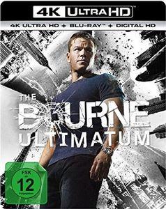 Bourne Ultimatum (BR+UHD)  2Disc Min: 115DD5.1WS    4K Ultra