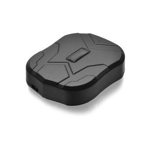 Auto GPS Tracker Fahrzeug Tracking Ger?t GSM Locator TK905 Super lange Standby-Zeit wasserdichte Magnet mit GSM / 2G / GPRS e Web APP Monitor (schwarz)