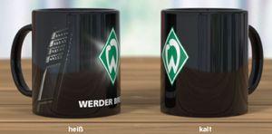 Werder Bremen Kaffeebecher 'Magic Flutlichtmast'