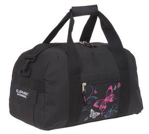 Sporttasche Mädchen Elephant Hero Signature Tasche Sport Fitness Kindertasche Schuhfach 12678 Butterfly Pink