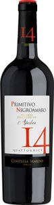 Primitivo Negroamaro Puglia IGT 14 Contessa Marina Apulien Rotwein halbtrocken