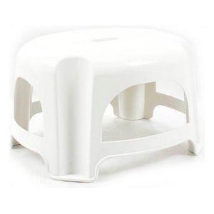 Hocker Step Kunststoff Weiß (29 X 25 x 18,5 cm)
