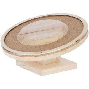 Hamsterlaufteller aus Holz Kerbl Ø 30cm