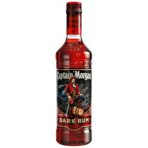 Captain Morgan Dark Rum Karibik | 40 % vol | 0,7 l