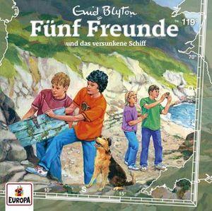 Fünf Freunde-119/und das versunkene Schiff