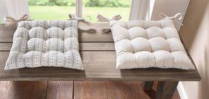 Stuhlkissen 'Cottage' Textil Wohnen Möbel Couch Sessel Liege bequem