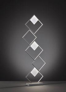 Wofi LED Stehleuchte Jade in Dunkelgrau 44W 4300lm