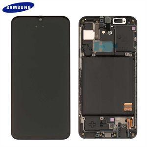 Original Samsung Galaxy A40 A405 LCD Display Touch Screen Bildschirm (Service Pack) Black GH82-19672A / GH82-19674A