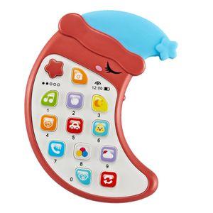 1 Stück Baby-Handy-Spielzeug Farbe rot